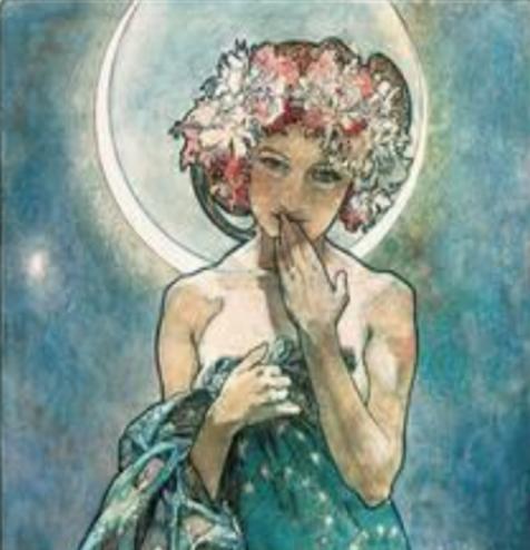 Mucha - Moon